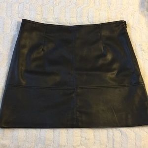 H&M Brand new faux leather skirt